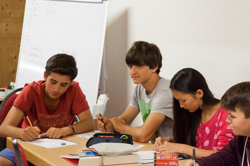 Séjour linguistique Suisse, Leysin - Alpadia Language School Leysin - Leçon