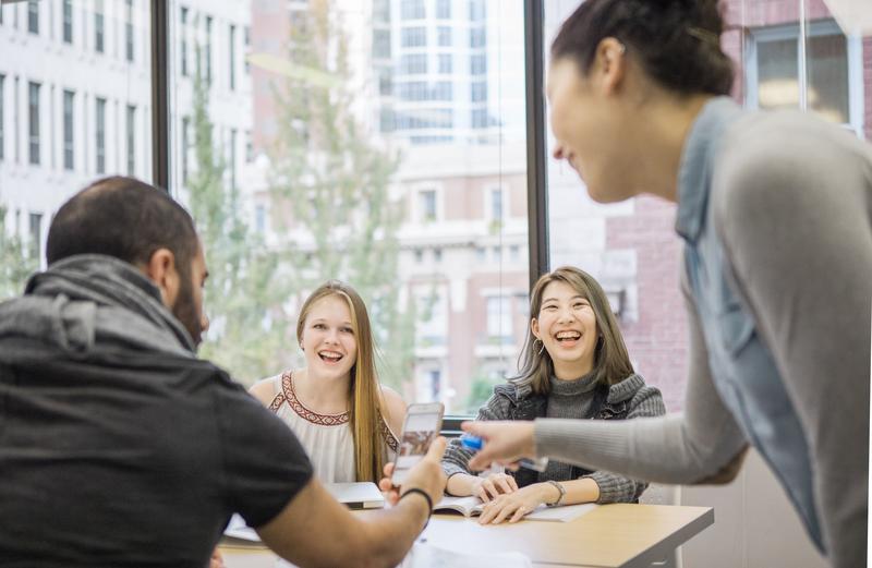 Sprachaufenthalt Kanada, Vancouver - Tamwood Careers Vancouver - Lektionen