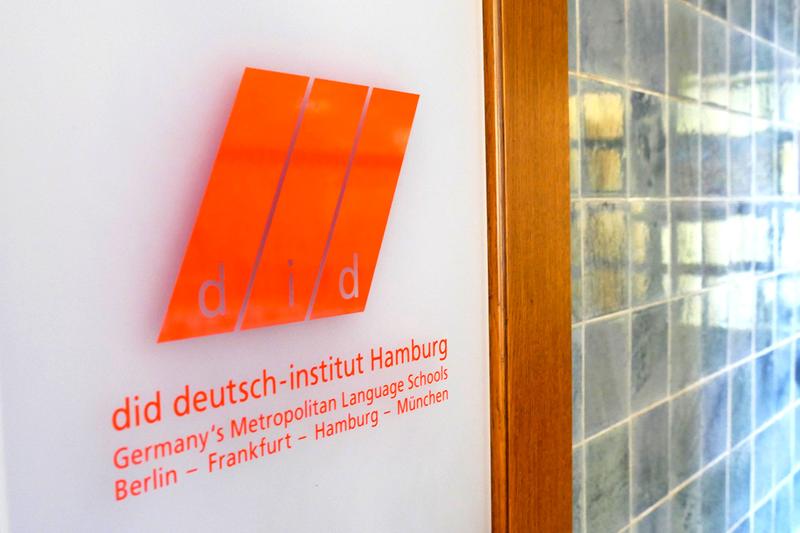 Sprachaufenthalt Deutschland, Hamburg - DID Hamburg - Eingang