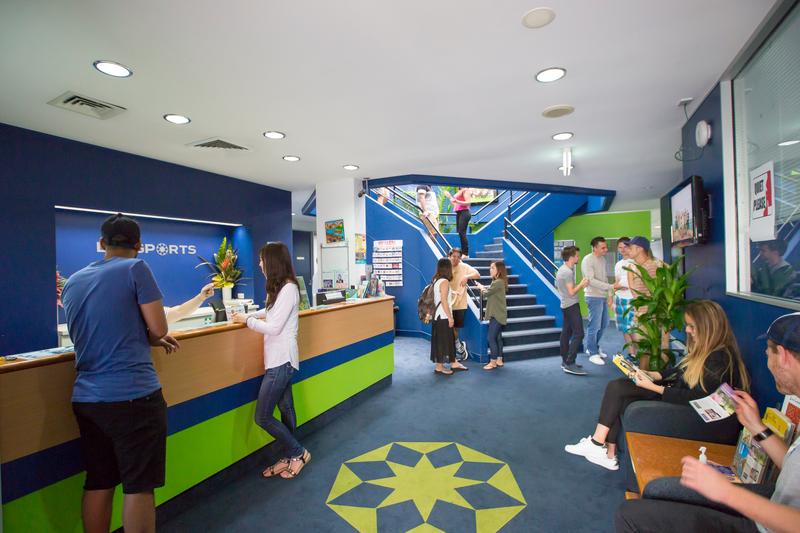 Sprachaufenthalt Australien, Gold Coast - Langports Gold Coast - Rezeption