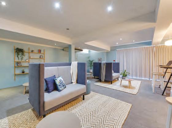 Sprachaufenthalt Australien, Perth - Lexis Perth - Accommodation - The Tide - Wohnzimmer