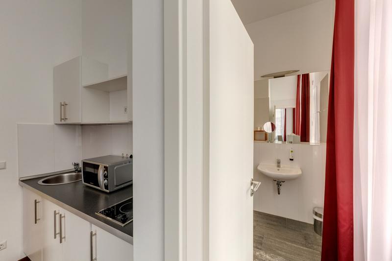 Sprachaufenthalt Deutschland, Berlin - GLS Sprachenzentrum Berlin - Accommodation - On Campus Apartment - Küche