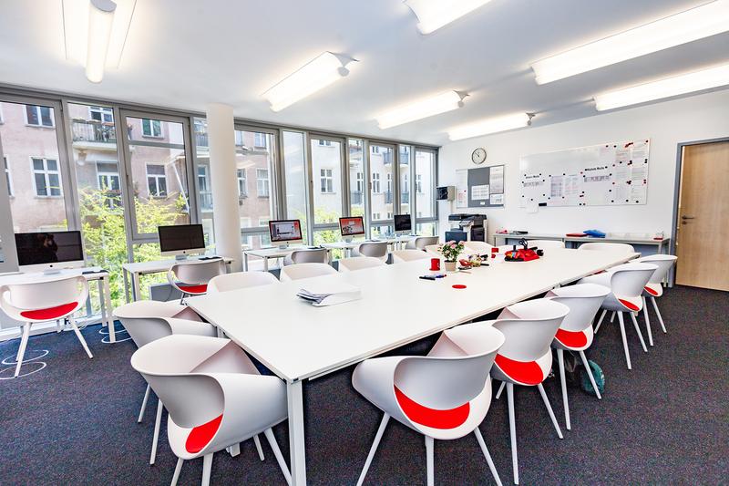 Sprachaufenthalt Deutschland, Berlin - DID Deutsch Institut Berlin - Klassenzimmer