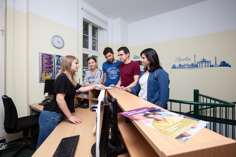 Séjour linguistique Allemagne, Berlin - Carlduisberg Centren Berlin - Réception