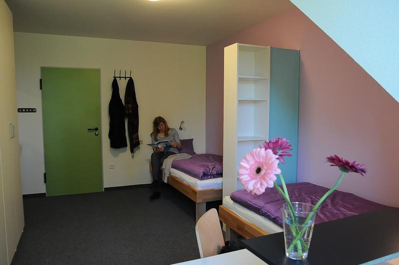 Sprachaufenthalt Deutschland, Lindau im Bodensee - Dialoge Lindau - Accommodation - Apartment Europaplatz - Schlafzimmer