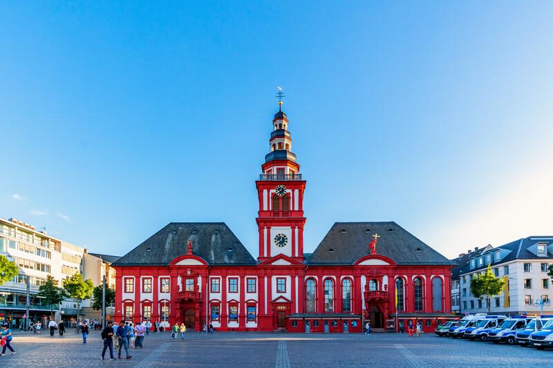 Sprachaufenthalt Deutschland, Mannheim - Altes Rathaus