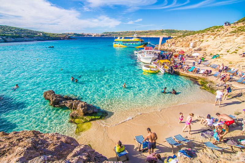 Sprachaufenthalt Malta, Comino