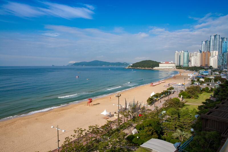 Séjour linguistique Corée du sud, Busan - Plage de Haeundae