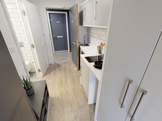 Sprachaufenthalt England, London - EC London - Accommodation - Apartment IQ Shoreditch - Küche