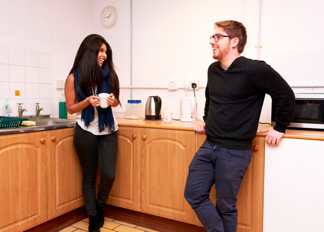 Sprachaufenthalt England, London - St Giles London Highgate -Accommodation-Küche