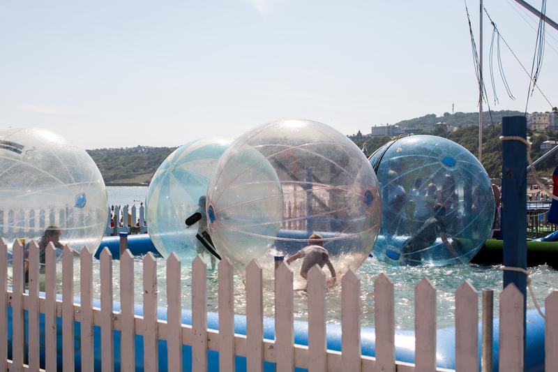 Séjour linguistique Angleterre, Scarborough - Bubble-Soccer