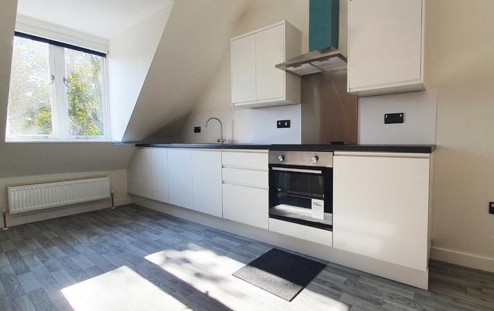 Sprachaufenthalt England, Canterbury - Stafford House Canterbury - Accommodation - Holmes House - Küche