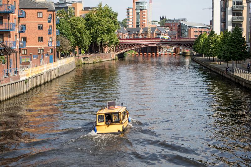 Sprachaufenthalt England, Leeds - River