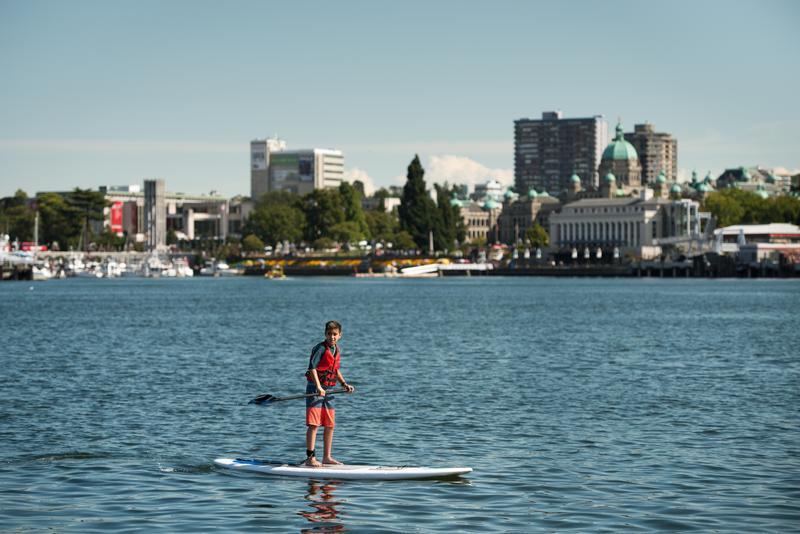 Sprachaufenthalt Kanada, Victoria - Stand Up Paddlen