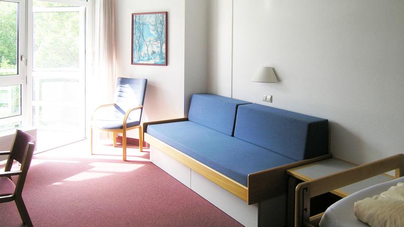 Sprachaufenthalt Deutschland, Bad Schussenried - Humboldt Institut Bad Schussenried - Accommodation - Wohnzimmer