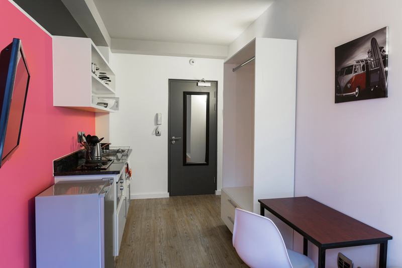 Sprachaufenthalt Südafrika, Capetown - GHS City Centre - Accommodation - Residenz GHS City Centre - Küche