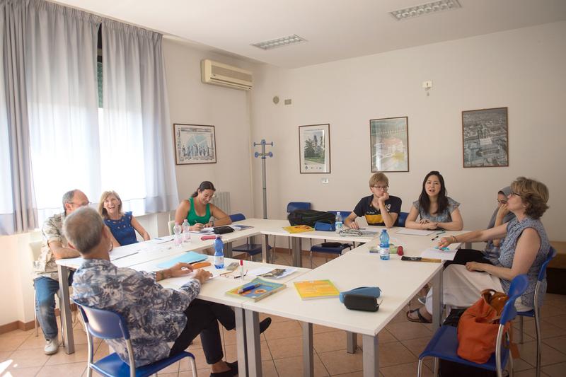 Sprachaufenthalt Italien, Verona - Idea Verona - Lektionen