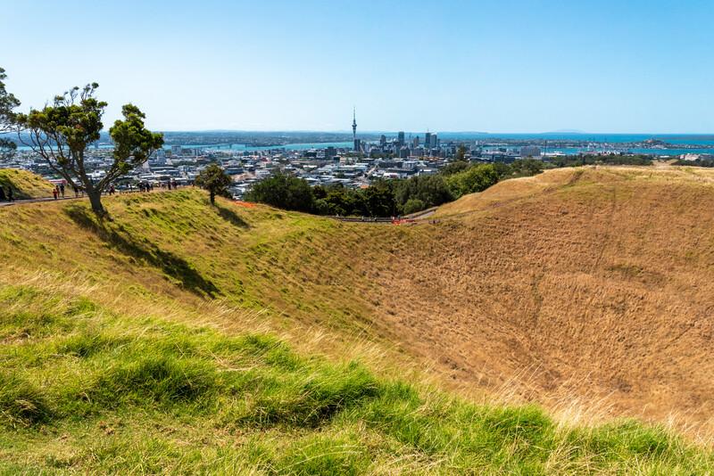 Séjour linguistique Nouvelle Zélande, Auckland - Mount Eden Volcanic Park