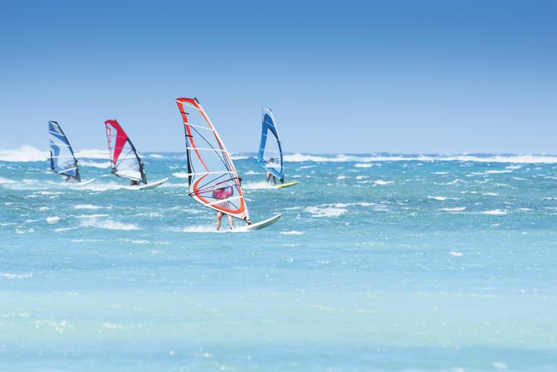 Boa Lingua, Séjour linguistique - Windsurfing