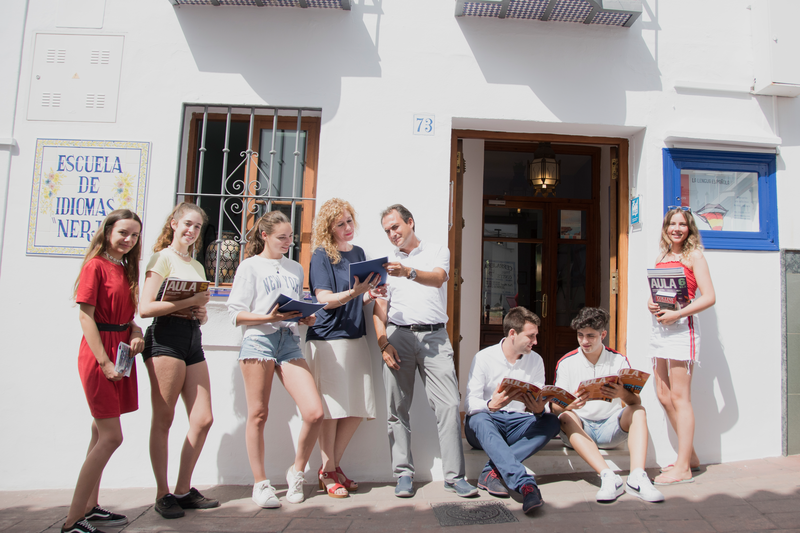 Sprachaufenthalt Spanien, Nerja - Escuela de Idiomas Nerja - Studenten