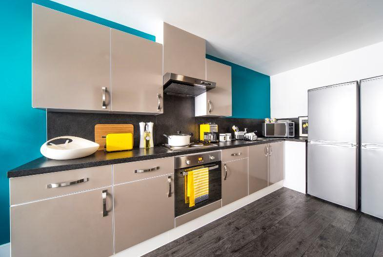 Sprachaufenthalt England, Edinburgh - CES Edinburgh - Accommodation - Residenz Canal Point - Küche