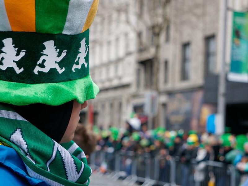 Séjour linguistique Irlande, Dublin - St. Patrick's Day