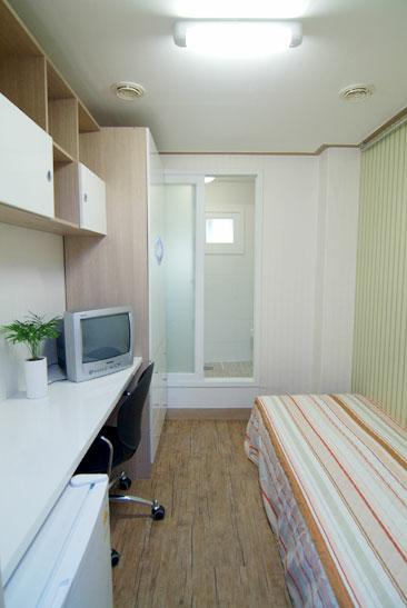 Sprachaufenthalt Korea, Seoul - Lexis Korea Seoul - Accommodation - Mini Studio - Schlafzimmer