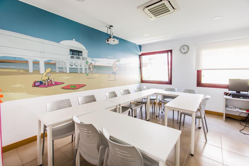 Sprachaufenthalt Spanien, Cádiz, CLIC Cádiz - Klassenzimmer