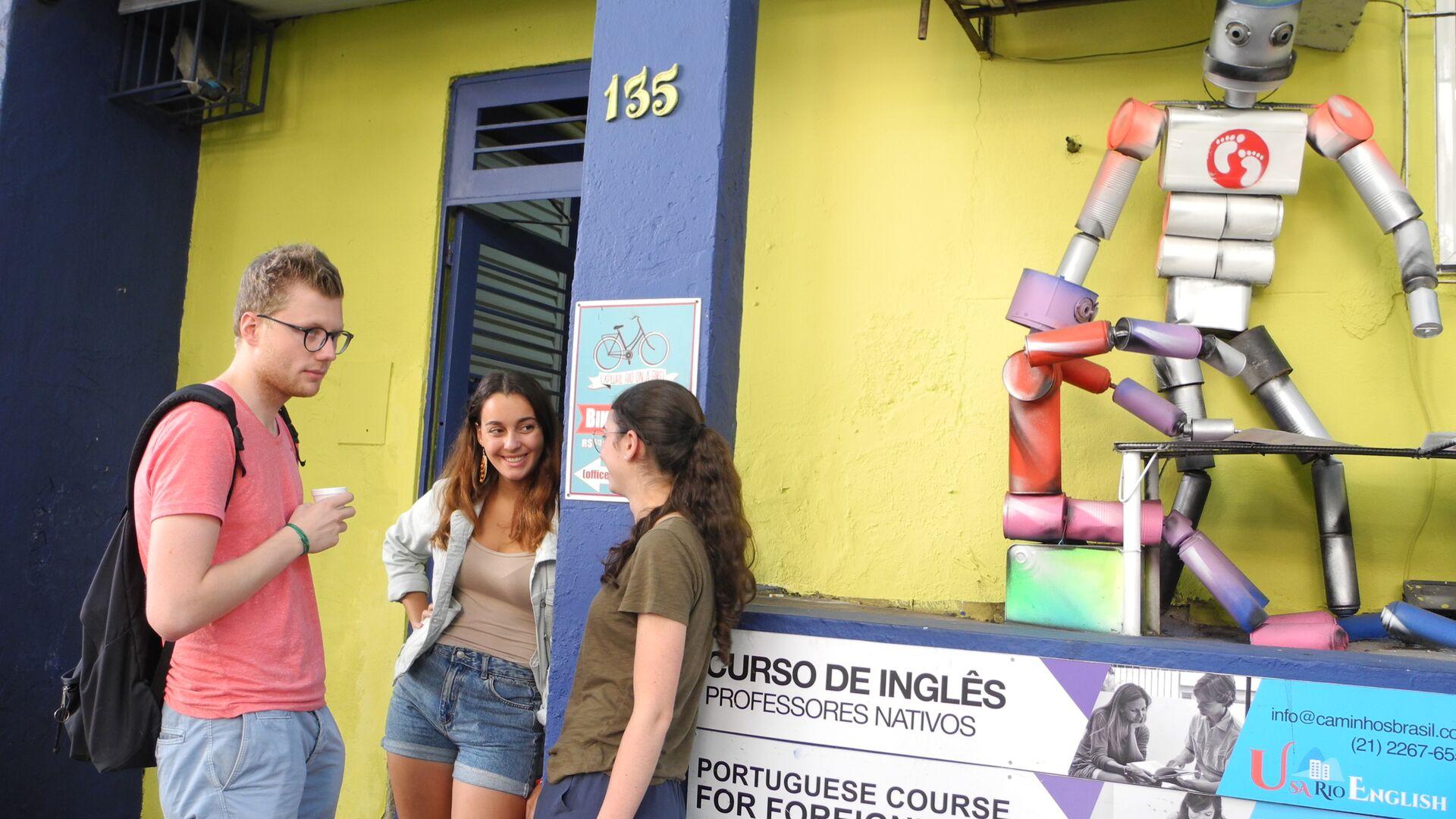 Séjour linguistique Brasil, Rio de Janeiro - Caminhos Language Centre Rio de Janeiro - École
