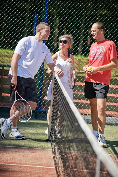 Sprachaufenthalt Belgien, Spa - Ceran SPA – Tennis