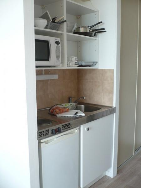 Sprachaufenthalt Frankreich, La Rochelle - Inlingua la Rochelle - Accommodation - Residenz New Rochelle - Küche