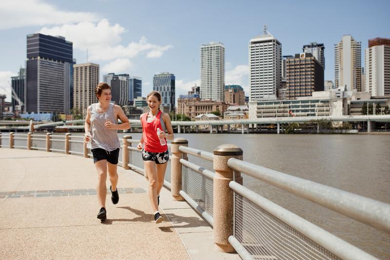 Séjour linguistique Australie, Brisbane - Jogging