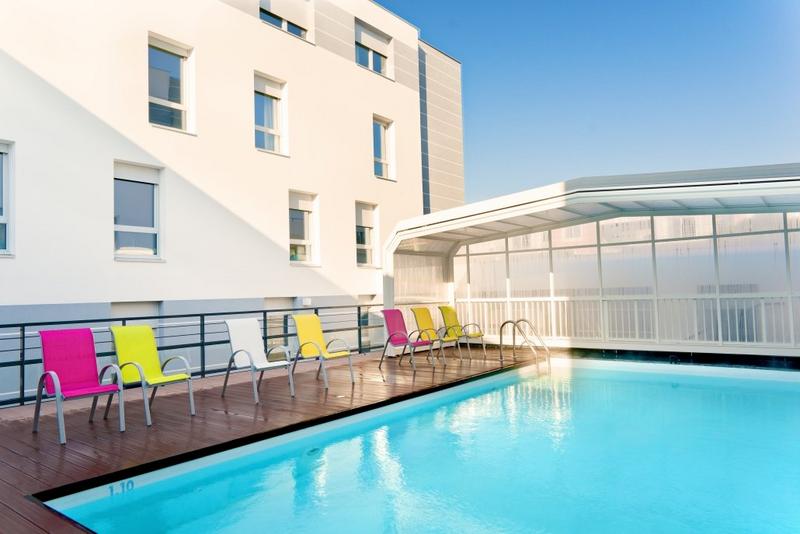 Sprachaufenthalt Frankreich, La Rochelle - Inlingua la Rochelle - Accommodation - Apartment Escale Marine - Pool
