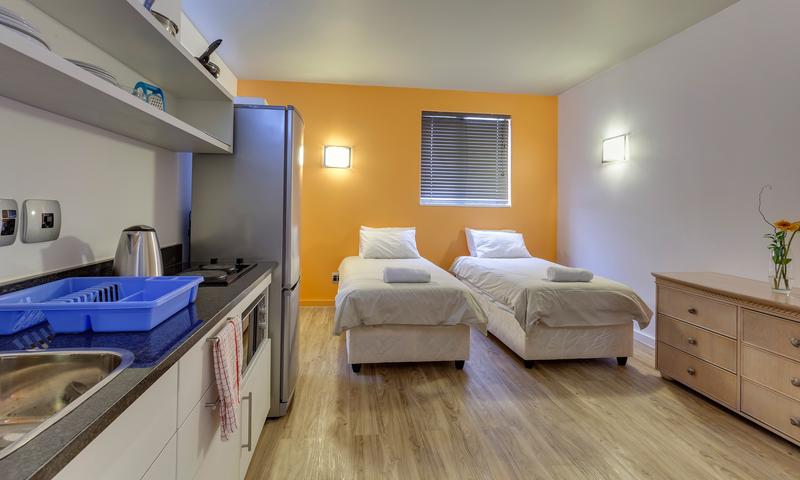Sprachaufenthalt Südafrika, Capetown - GHS City Centre - Accommodation - Residenz GHS City Centre - Zimmer