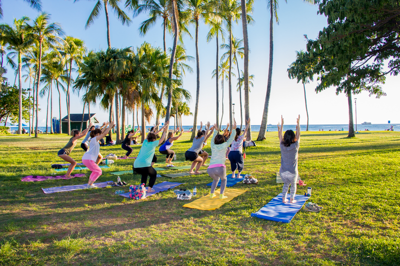 Séjour linguistique Etats-Unis, Hawaii - IIE - Yoga