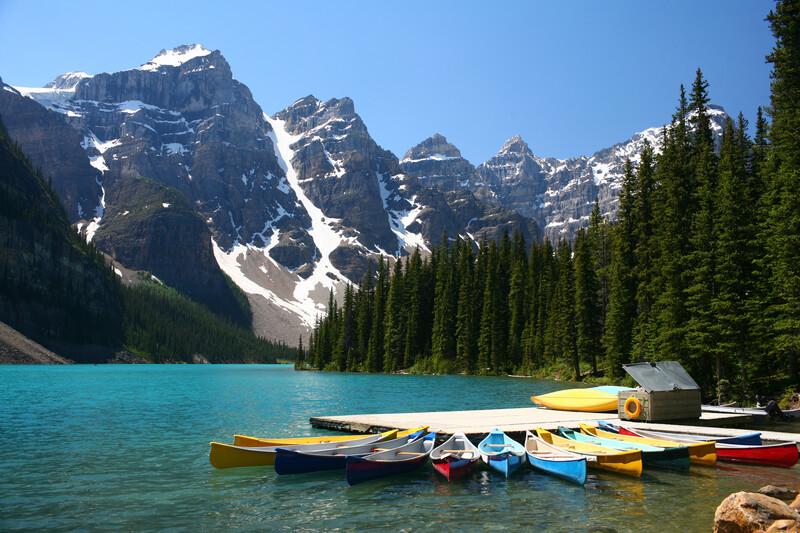 Séjour linguistique Canada, Calgary - Moraine lake