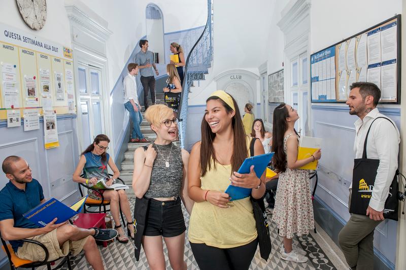Séjour linguistique Italie, Rom – Dilit International House Roma – Étudiants