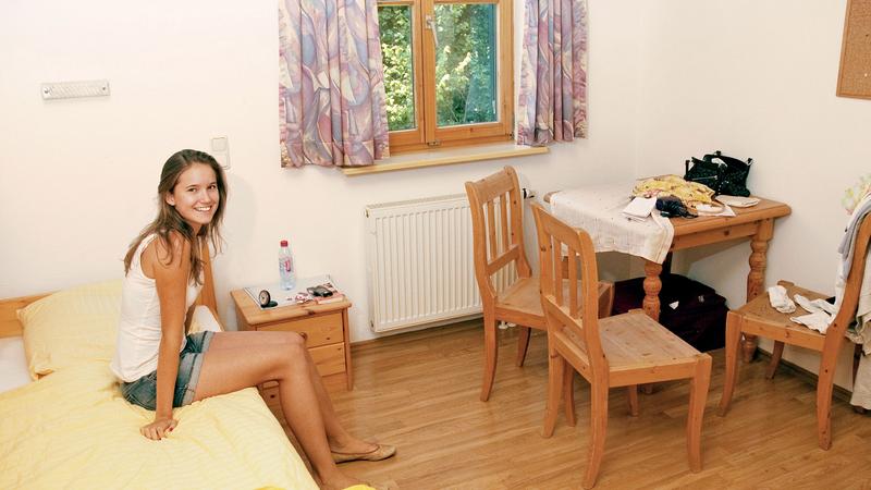 Sprachaufenthalt Deutschland, Lindenberg - Humboldt Institut Lindenberg - Accomodation - Residenz - Zimmer