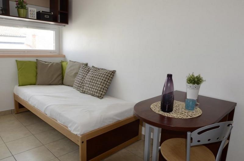 Sprachaufenthalt Frankreich, Lyon - Alpadia Language School Lyon - Accommodation - Student Residenz - Wohnzimmer