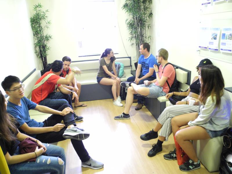 Séjour linguistique Brasilien, Rio de Janeiro - Caminhos Language Centre Rio de Janeiro - Lounge