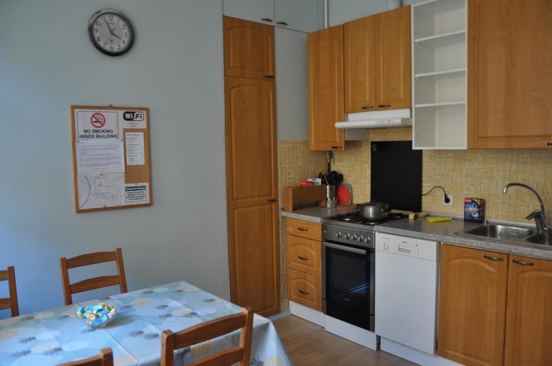 Sprachaufenthalt Russland,St. Petersburg - Liden & Denz St. Petersburg - Accommodation - Shared Apartment - Küche