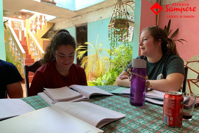 Séjour linguistique Cuba, Havana - Estudio Sampere Havana- Lecons