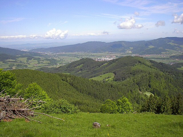 Sprachaufenthalt Deutschland, Freiburg im Breisgau - Bergkette
