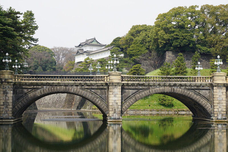 Sprachaufenthalt Japan, Tokio - Kaiserpalast
