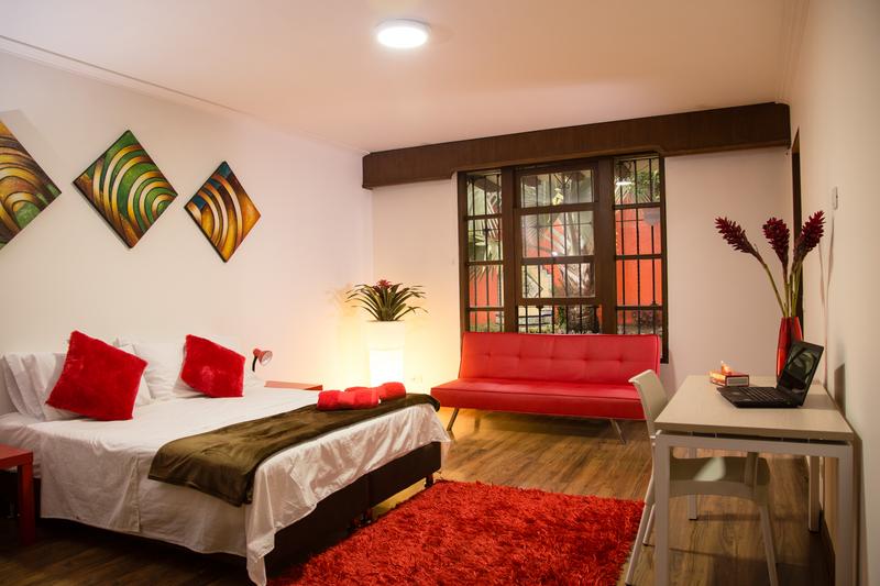 Sprachaufenthalt Kolumbien, Medellin - Accommodation - Student Residenz - Zimmer