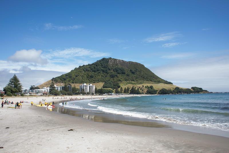 Sprachaufenthalt Neuseeland, Mount Maunganui Language Centre - Maunganui Beach