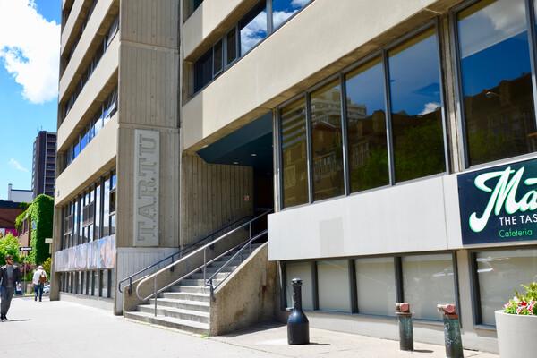 Sprachaufenthalt Kanada, Toronto - CES Toronto - Accommodation - Residenz Tartu College - Gebäude