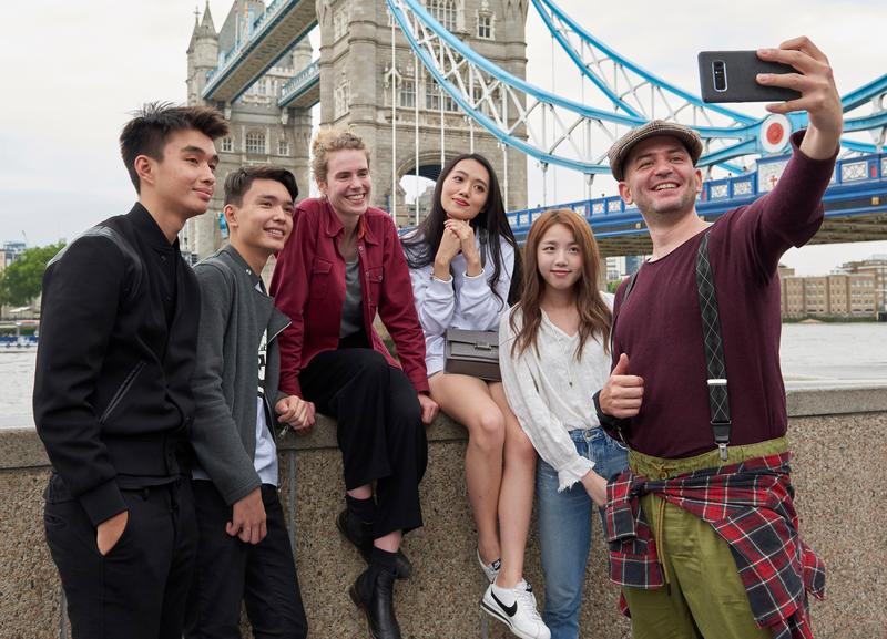 Sprachaufenthalt England, London - St Giles London Central - Studenten