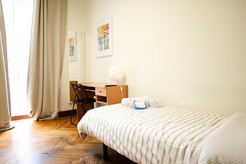 Sprachaufenthalt Spanien - Madrid - Enforex Madrid - Accommodation - Einzelzimmer