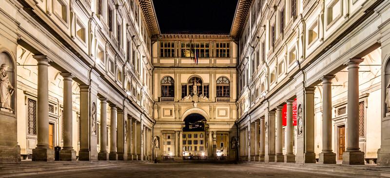 Séjour linguistique Italie, Florence - Uffizien